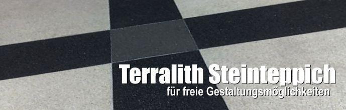Terralith Steinteppich für freie Gestaltungsmöglichkeiten
